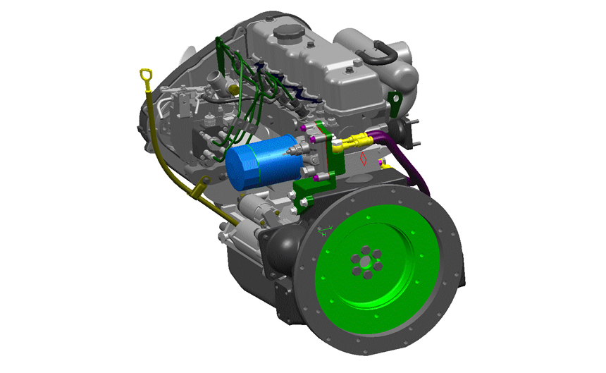 D4BB ENGINE COMPONENT